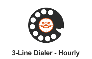 POWER DIALER CRM 3-Line Dialer Hourly | SALESDIALERS